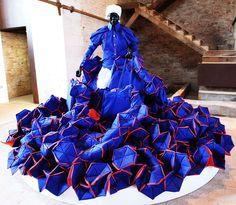 Mary Sibande: art, textile et apartheid.