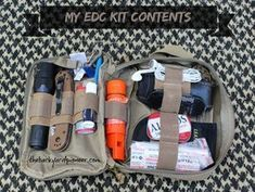 Check out what goes into a well thought out Everyday Carry Kit from www.thebackyardpioneer.com