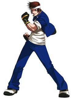 Shingo Yabuki from The King of Fighters 2003