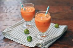 Orange Surprise- Apple, Carrot, Celery and Lime Juice