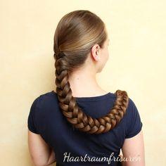 Haartraumfrisuren - lange Haare pflegen und frisieren - Part 2