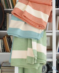 Border Stripe Blanket