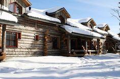 Yllas  - Äkäslompolo Finland, Interesting Buildings, Helsinki, Ark, Cottages, Cabin, House Styles, Places, Travel