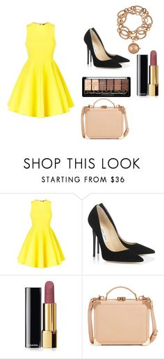 """Sun kissed"" by asiannaluxxx on Polyvore featuring AQ/AQ, Jimmy Choo, Chanel, Aspinal of London and Louis Arden"