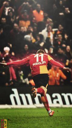 Lukas Podolski Gol Sevinci
