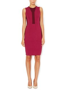 Silk Colorblocked Tank Dress from Narciso Rodriguez on Gilt