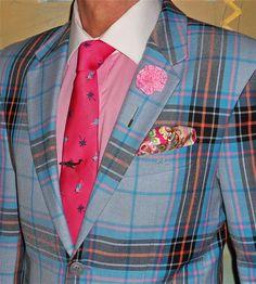 Moods of Norway blazer, Ralph Lauren shirt, vintage tie…