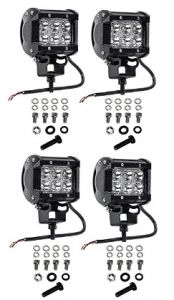 Find the best prices on Cutequeen 4 X 1800 Lumens Cree LED Spot Light for Off-road SUV Boat Jeep Lamp Tractor Marine Off-road Lighting Rv Atv(pack of and save money. Tractor Lights, Off Road Rv, Rear View Mirror Camera, Tractor Accessories, Trailer Interior, Jeep 4x4, Led Light Bars, Offroad, Tractors