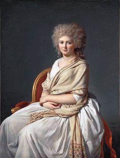 Portrait d'Anne-Marie-Louise Thélusson, Comtesse de Sorcy par Jacques Louis David