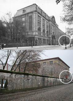 Berlin, Geheimes Staatspolizeihauptamt Prinz-Albrecht-Strasse. The Gestapo headquarters