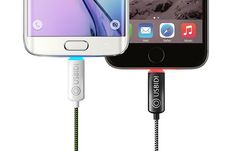 UsBidi - The World's Most Intelligent Charger Ever! by UsBidi Charger — Kickstarter New Gadgets, Cool Gadgets, Iphone Gadgets, Kitchen Gadgets, Smartphone, Led, Charging Cable, Cool Items, Ipad Mini