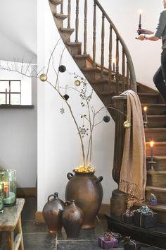 7 alternatieven voor de klassieke kerstboom | Wonen Landelijke Stijl Home Decor, Xmas, Homes, Homemade Home Decor, Decoration Home, Interior Decorating
