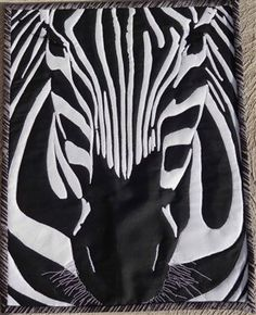 Graphic Zebra - Quilting Daily