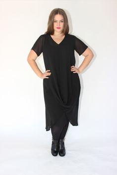 DEANNA DRESS - BLACK