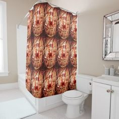 #customize - #Crafting christmas presents shower curtain