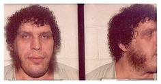 Andre The Giant  Vintage Mug Shots | The Smoking Gun
