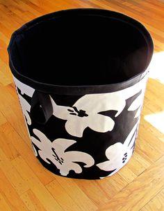 Modern Storage Basket/Bins/Marimekko - pinned by pin4etsy.com