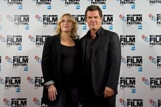 Kate Winslet and Josh Brolin. London Film Festival, Festival 2017, Josh Brolin, London Films, Kate Winslet, Red Carpet, Day, Photos, Pictures