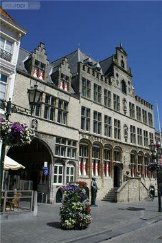 Stadhuis, Bergen op Zoom, Noord-Brabant.