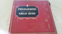Philharmonic Family Library of Great Music, album 1, price includes Media Mail shipping by Eclectasism on Etsy
