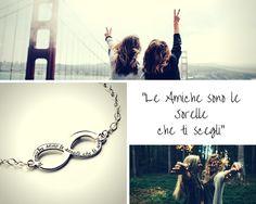 """Friendship Bracelet  Bracciale in argento con incisione """"Le amiche sono le sorelle che ti scegli""""  Acquista su www.etrarte.it #friendshipjewels #friendshipbracelet #friend #amichepersempre #friendforever #jewels #braccialeamiche"""