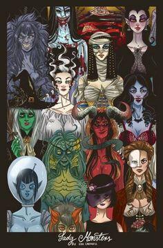 Monster Ladies
