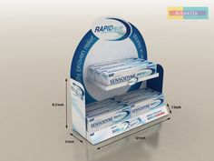 sensodyne counter top by Ayaz Ali, via Behance