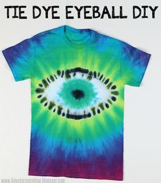 Tie Dye Eyeball Shirt