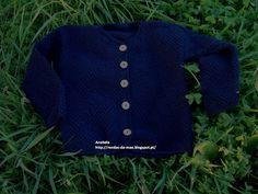 Rendas da Mãe: Casaco de tricot para menina