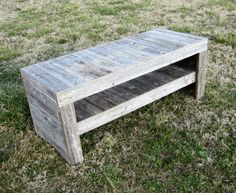 Reclaimed Wood Coffee Table  Rustic Decor  by CountryByTheBumpkins, $350.00