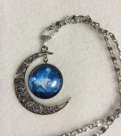KETTE Mond Galaxy von Elbengard auf DaWanda.com