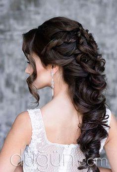 Bukleli Gelin Saçı Modeli @duguncom