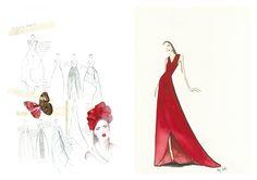Translucent B Design Development 3 #alotlikeamy #designportfolio #fashiondesign #cad #illustration