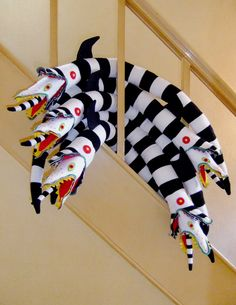 Beetlejuice Sandworm Plush by tavingtoncrafts on Etsy https://www.etsy.com