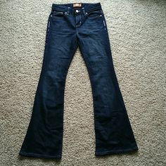 GIRLS OLD NAVY FLARE Slim flare jeans made by Old Navy 12.5in. Across the waist Old Navy Bottoms Jeans