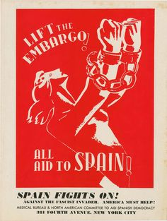 Medical Bureau and North American Committee to Aid Spanish Democracy, Tear-sheet, March 1939 | Digital Collections @ Mac