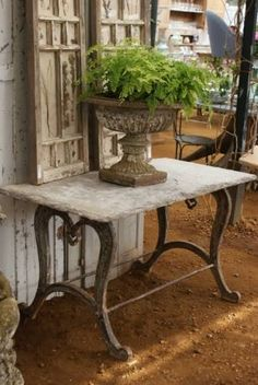 Petersham Nurseries magical world of antiques #urn...