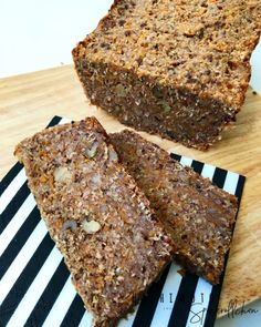 Süßkartoffel Hirse Brot Healthy Baking, Banana Bread, Good Food, Cake, Desserts, Recipes, Soups, Low Carb, Cooking