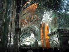 Shah Cheragh Mosque in Shiraz, Iran