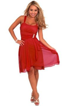 Sleeveless Rhinestone Empire Waist Sheer Layer Evening Cocktail Party Dress (Small, RED) Hot from Hollywood,http://www.amazon.com/dp/B009SRNE8G/ref=cm_sw_r_pi_dp_Itzmrb19BE9JGANG