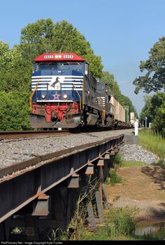 RailPictures.Net Photo: NS 6920 Norfolk Southern SD60E at Powder Springs, Georgia by Kyle Yunker