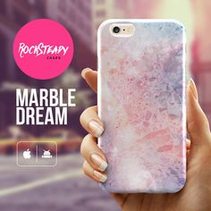 Marble Dream iPhone 6 Plus case Premium Hard by RockSteadyCases