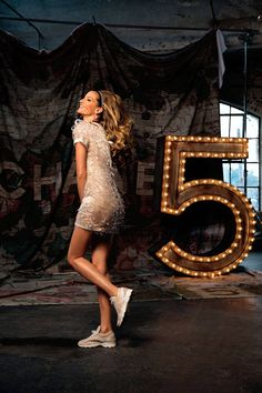 Go behind the scenes on Gisele's epic new advert for Chanel No. 5:
