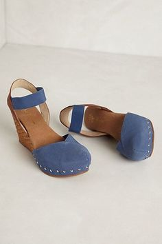 Anthropologie - Marigot Espadrille Wedges from Anthropologie. Saved to OMG Shoes! Cute Shoes, Me Too Shoes, Daily Shoes, Mein Style, Shoe Boots, Shoe Bag, Beautiful Shoes, Anthropologie, Fashion Shoes