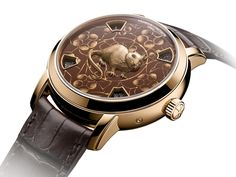 Vacheron Constantin Metiers d'Art The legend of the Chinese zodiac - Year of the Rat watch with enamel in rose gold Vacheron Constantin, Zodiac Years, Love Magazine, Chinese New Year 2020, Year Of The Rat, Popular Art, Chinese Zodiac, Pink And Gold, Rose Gold