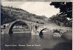 BAGNI DI LUCCA - Ponte del Diavolo - Anni '60