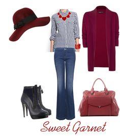 """Sweet garnet"" by maryrec on Polyvore"