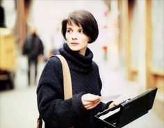 Juliette Binoche.  I have adored her for almost 30 years now... Beauty, talent & intelligence.