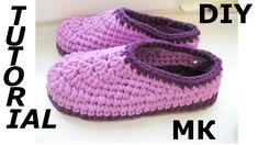 Crochet Slippers – Footwear Tutorial - Design Peak - Her Crochet Crochet Cardigan, Crochet Shawl, Crochet Stitches, Knit Crochet, Crochet Patterns, Crochet Slippers, Crochet For Beginners, Crochet Gifts, Learn To Crochet