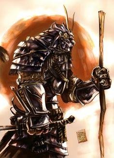 Samurai Tiger by jorcerca